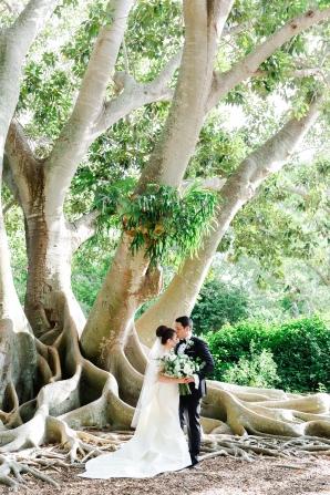 Elegant Sarasota Wedding Marie Selby Gardens 7