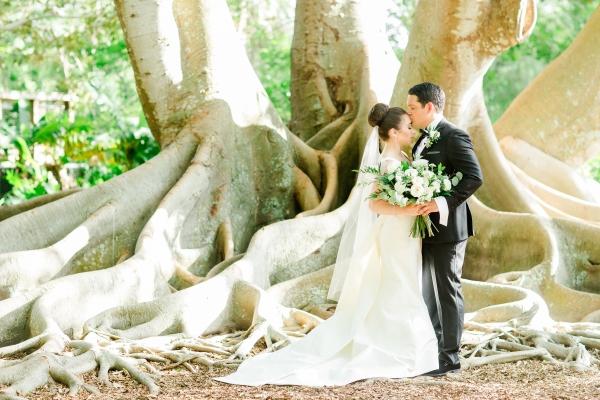 Elegant Sarasota Wedding Marie Selby Gardens 8