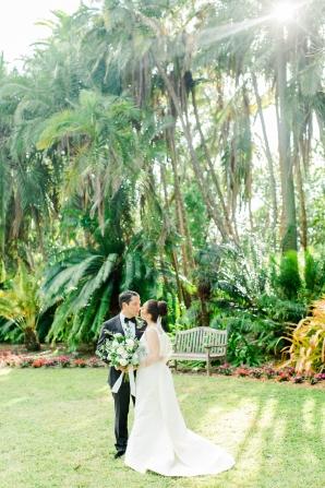 Elegant Sarasota Wedding Marie Selby Gardens 9