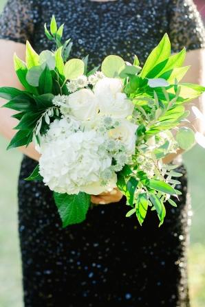 Hydrangea Bridesmaid Bouquet