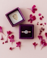 Man Made Engagement Ring