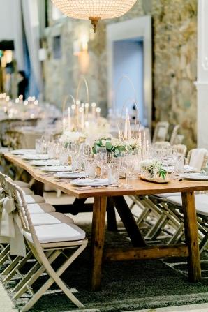 Modern and Elegant Geometric Wedding Reception