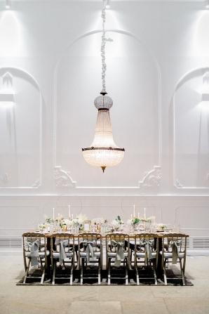 Romantic Head Table for Wedding