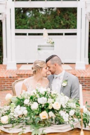 Sweetheart Table for Wedding
