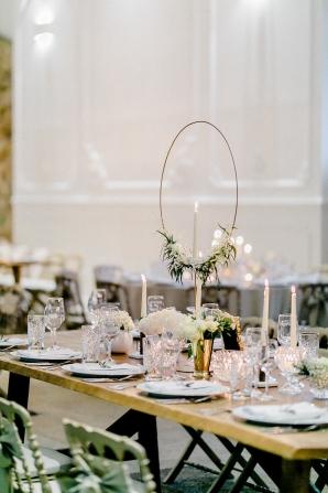 Wedding with Geometric Details