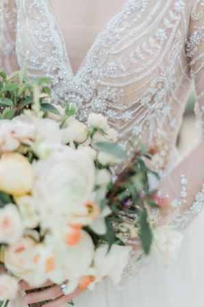 Beaded Bridal Gown