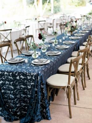 Blue Wedding Details