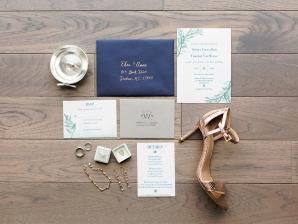 Blue Wedding Invitations 1
