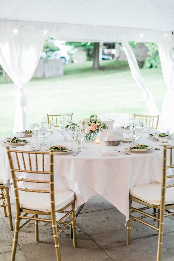 Blush Tent Wedding