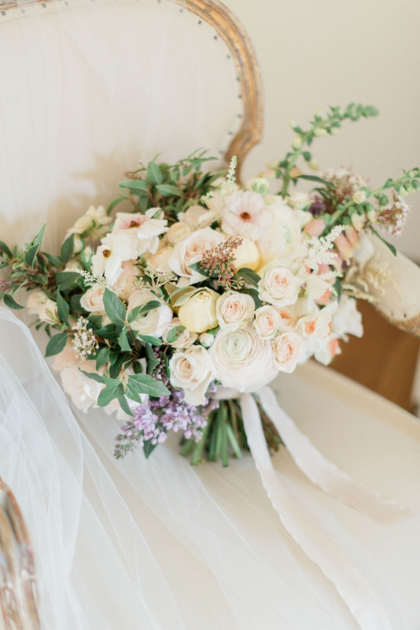 Bouquet with Pastel Flowers