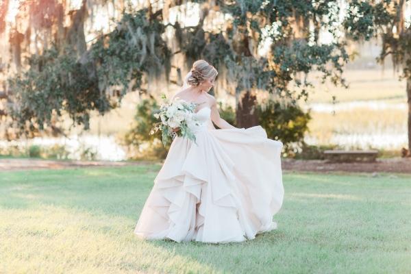 Bride in Morilee