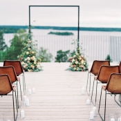 Bright and Warm Colored Wedding Inspiration in Sweden 2 Brides Photography04