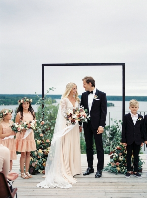 Bright and Warm Colored Wedding Inspiration in Sweden 2 Brides Photography12