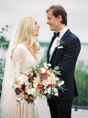 Bright and Warm Colored Wedding Inspiration in Sweden 2 Brides Photography14