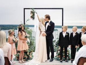Bright and Warm Colored Wedding Inspiration in Sweden 2 Brides Photography17