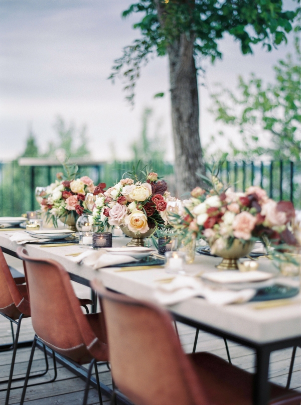 Bright and Warm Colored Wedding Inspiration in Sweden 2 Brides Photography20