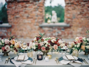 Bright and Warm Colored Wedding Inspiration in Sweden 2 Brides Photography24