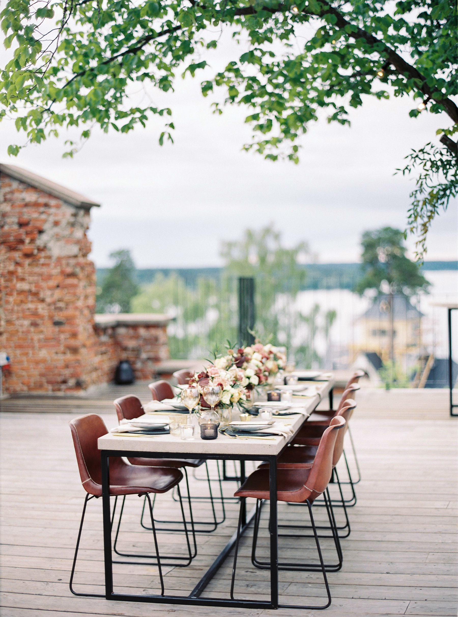 Bright and Warm Colored Wedding Inspiration in Sweden 2 Brides Photography25