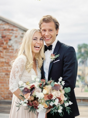 Bright and Warm Colored Wedding Inspiration in Sweden 2 Brides Photography42