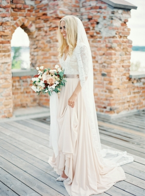 Bright and Warm Colored Wedding Inspiration in Sweden 2 Brides Photography49