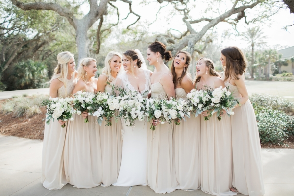 Chamapgne Bridesmaid Dresses