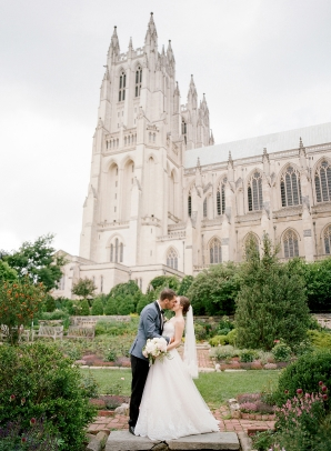 Classic Blush and Gold National Cathedral Wedding Audra Wrisley07