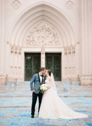 Classic Blush and Gold National Cathedral Wedding Audra Wrisley08