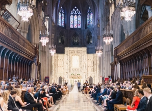Classic Blush and Gold National Cathedral Wedding Audra Wrisley12
