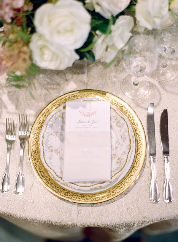 Classic Blush and Gold National Cathedral Wedding Audra Wrisley16