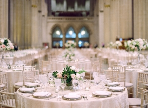 Classic Blush and Gold National Cathedral Wedding Audra Wrisley17