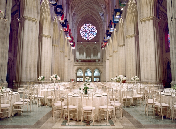 Classic Blush and Gold National Cathedral Wedding Audra Wrisley18