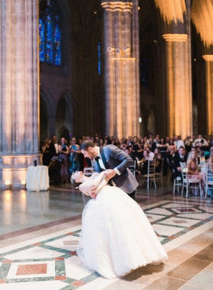 Classic Blush and Gold National Cathedral Wedding Audra Wrisley19