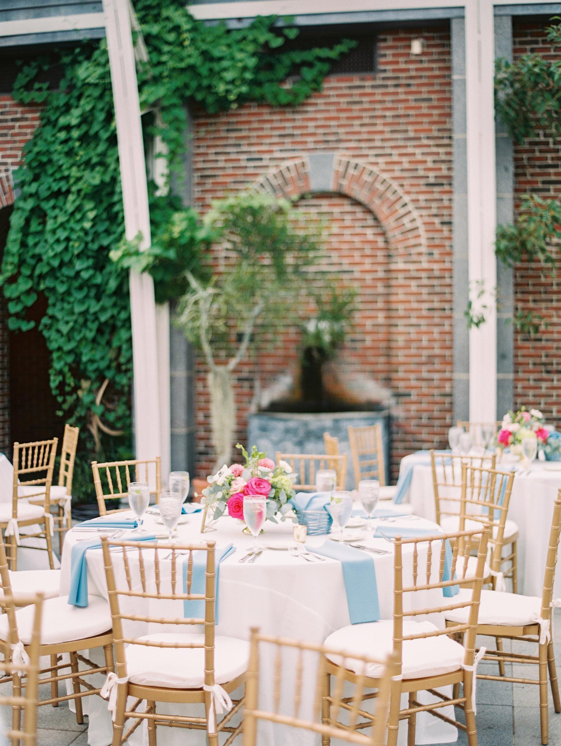Colorful Botanical Garden Wedding in Boston