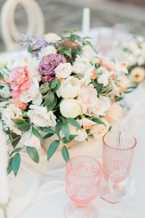 Colorful Pastel Centerpiece