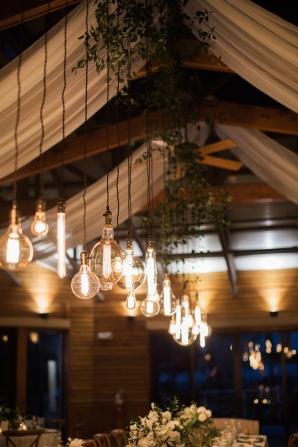 Edison Bulb Reception Lighting