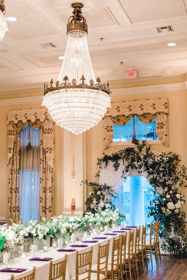 Elegant Ballroom Wedding Reception