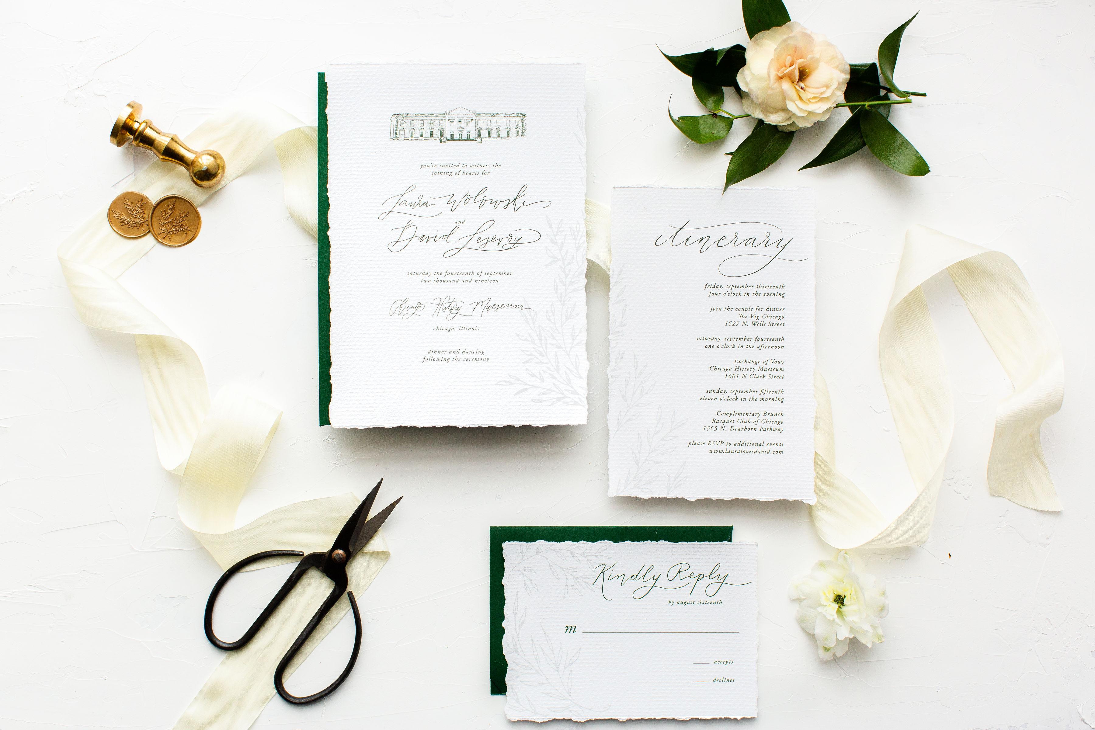 Elegant Hunter Green Wedding Inspiration Alexandra Lee12