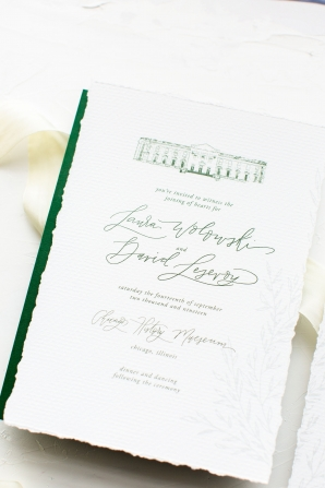 Elegant Hunter Green Wedding Inspiration Alexandra Lee13