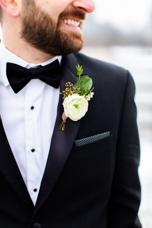 Elegant Hunter Green Wedding Inspiration Alexandra Lee16