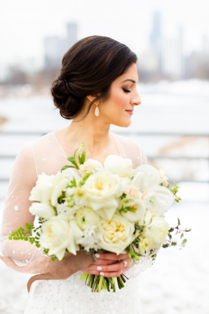Elegant Hunter Green Wedding Inspiration Alexandra Lee20