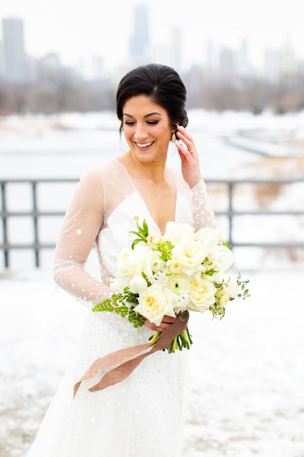 Elegant Hunter Green Wedding Inspiration Alexandra Lee21