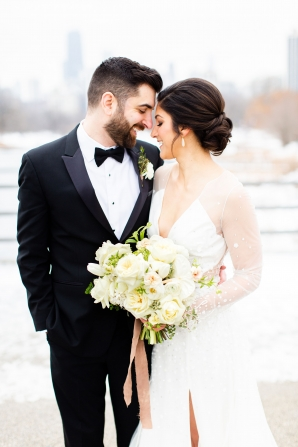 Elegant Hunter Green Wedding Inspiration Alexandra Lee24