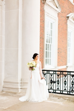 Elegant Hunter Green Wedding Inspiration Alexandra Lee27