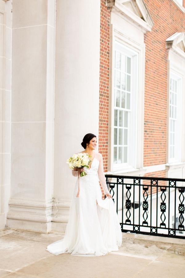 Elegant Hunter Green Wedding Inspiration Alexandra Lee27