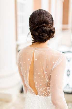 Elegant Hunter Green Wedding Inspiration Alexandra Lee28