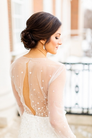 Elegant Hunter Green Wedding Inspiration Alexandra Lee29