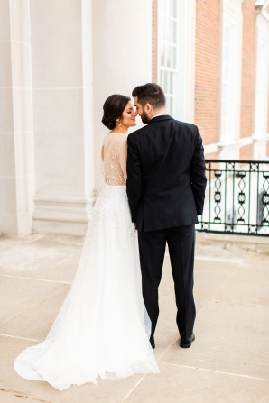 Elegant Hunter Green Wedding Inspiration Alexandra Lee30