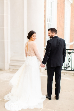 Elegant Hunter Green Wedding Inspiration Alexandra Lee31