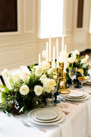 Elegant Hunter Green Wedding Inspiration Alexandra Lee35