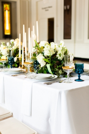 Elegant Hunter Green Wedding Inspiration Alexandra Lee36